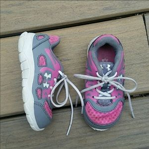Baby girl Under Armour sneakers